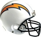 Get a San Diego Chargers FatHead Helmet