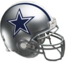 Get a Dallas Cowboys Fathead Helmet