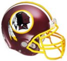 Get a Washington Redskins Fathead Helmet